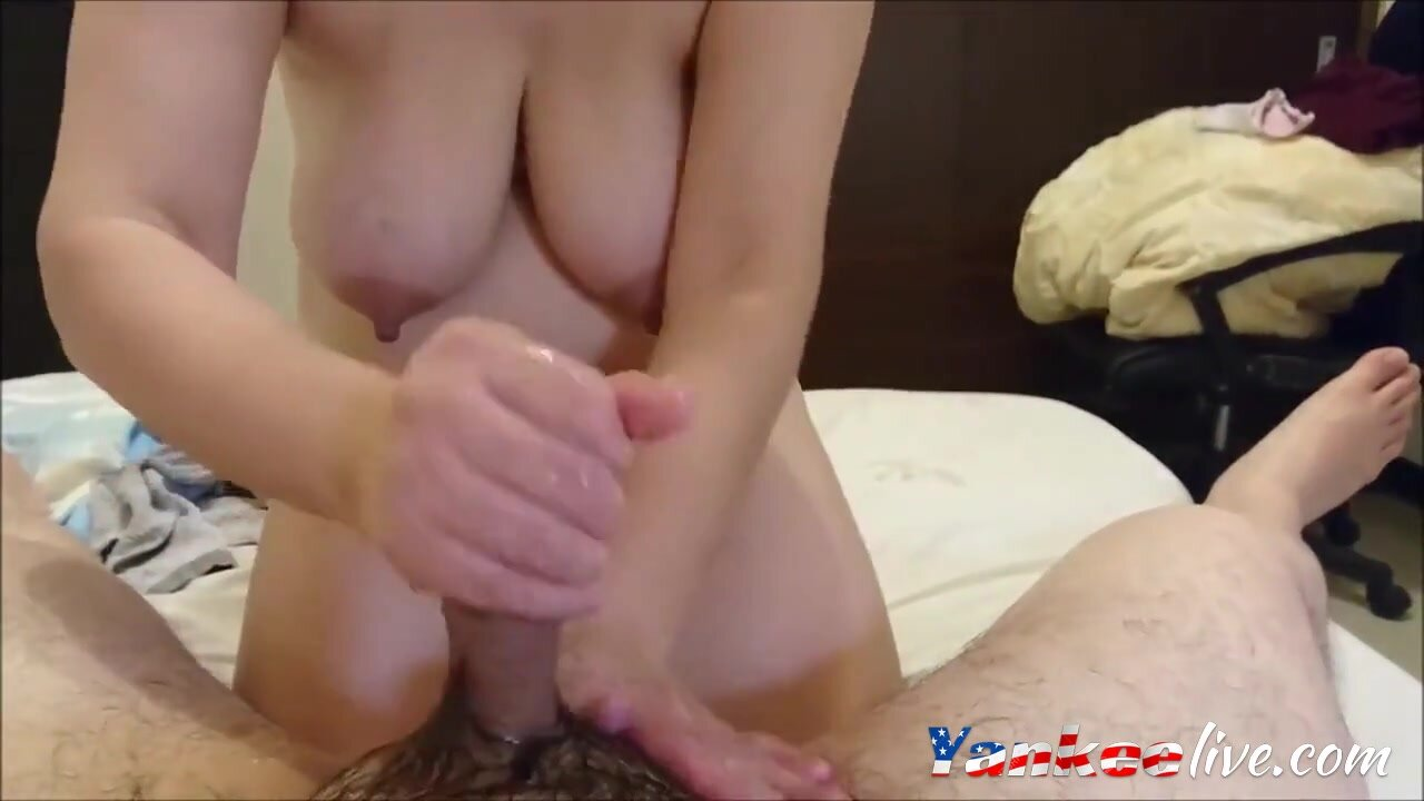 Busty girl giving hubby a good time. 2