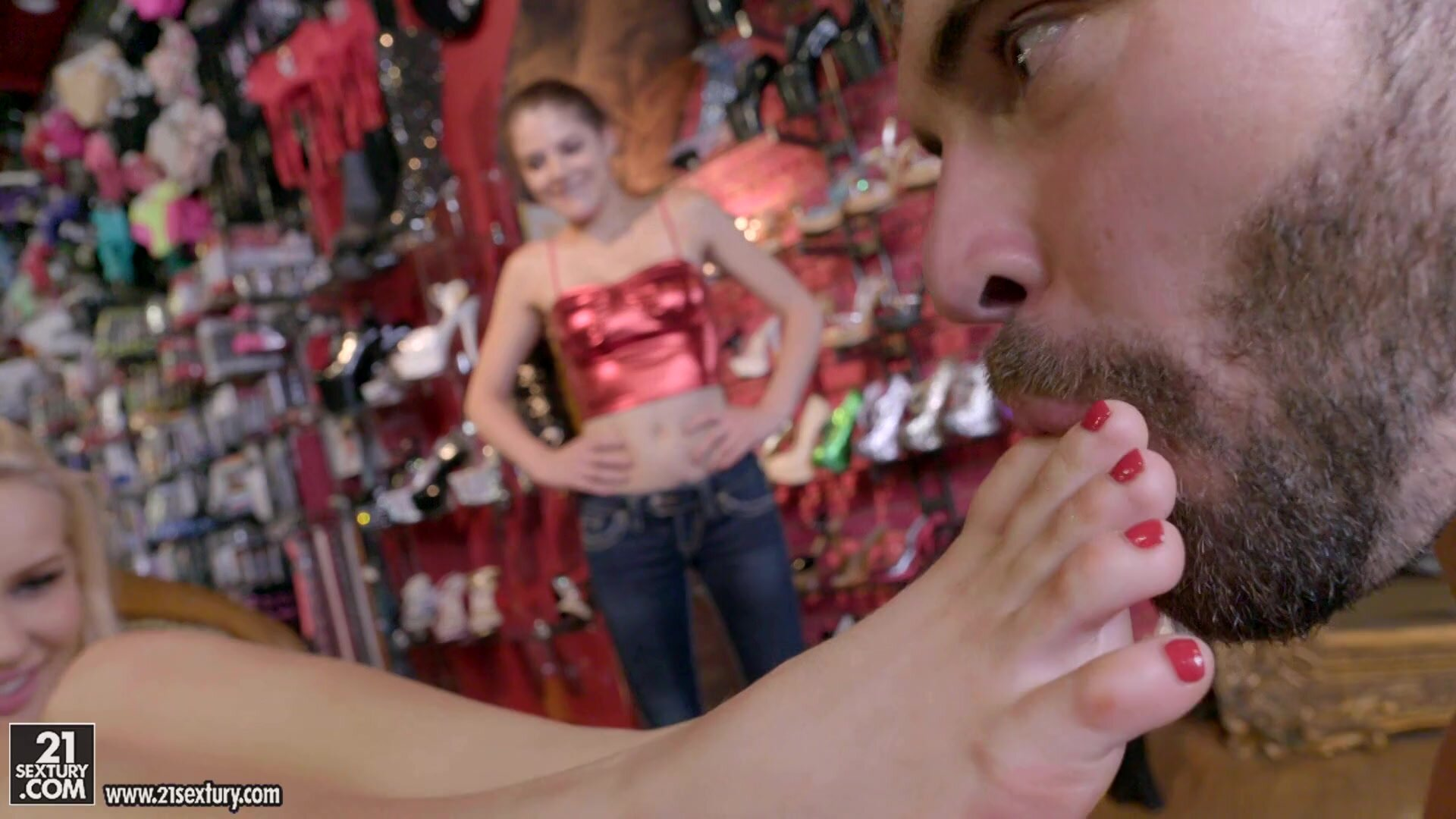 Footsie Banged In Shoe Store - Staci Carr