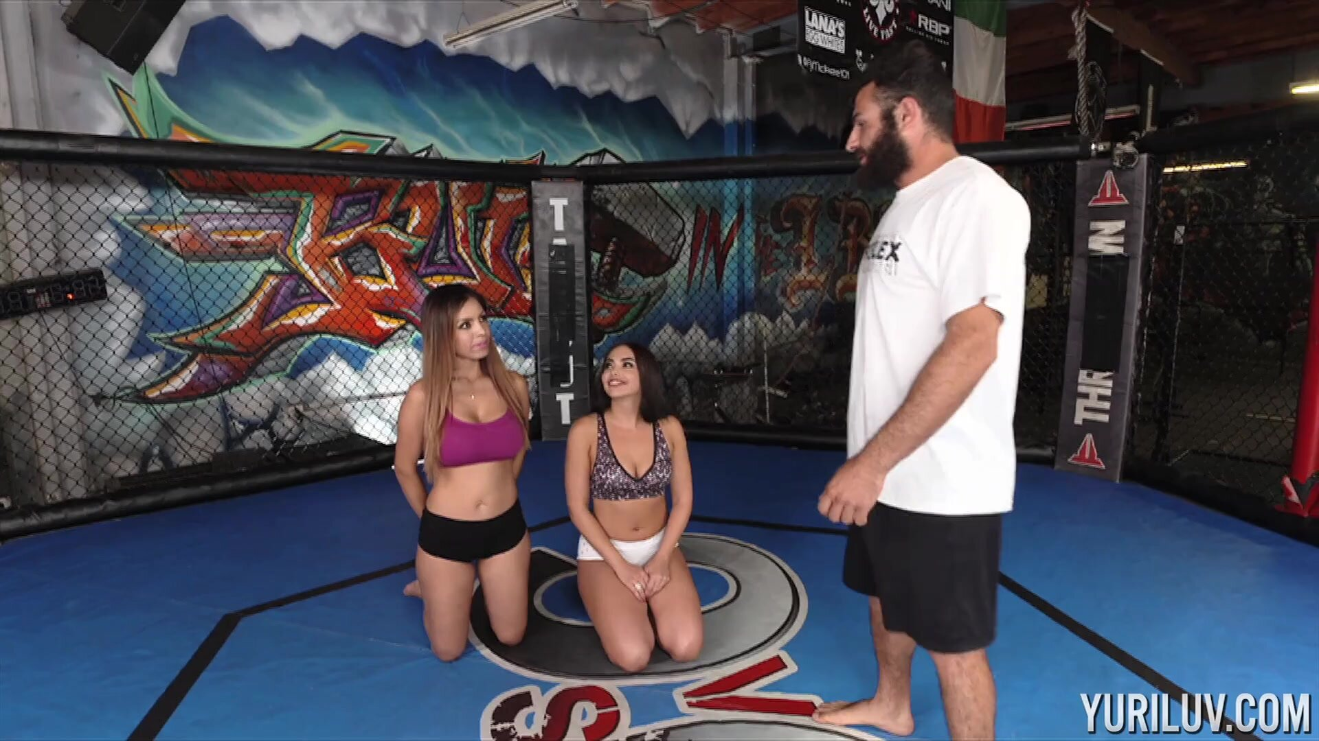 Threesome In The Ring
